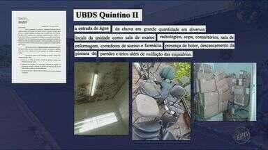 Secretaria de Saúde de Ribeirão Preto anuncia licitação para reformar postos de saúde - Prefeitura divulgou relatório que mostra a situação precária de várias unidades.