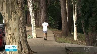 Pesquisa do IBGE revela auto índice de sedentarismo entre os paulistas - Mais da metade da população do estado de São Paulo com mais de 15 anos não pratica esportes ou atividade física. Foi o que revelou uma pesquisa do IBGE, divulgada nesta quinta (18).