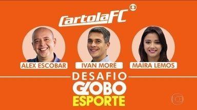 Carola FC: Desafio do Globo Esporte - Alex Escobar, Maíra Lemos e Ivan Moré se desafiam no game.