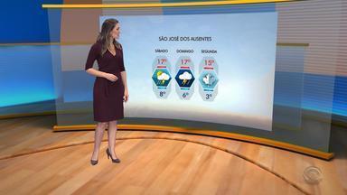 Tempo: chuva e vento forte podem atingir o RS no sábado (20) - Assista ao vídeo.