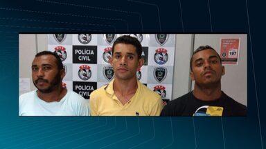 Polícia prende homens acusados de tráficos de drogas, roubo e outros crimes em CG - A prisão foi no bairro do Tambor.