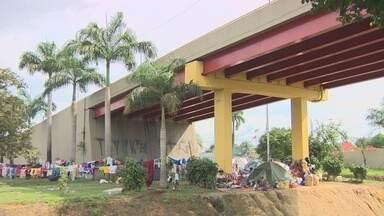 Venezuelanos irão para abrigo em dez dias - Local onde eles irão ficar passa por reformas.