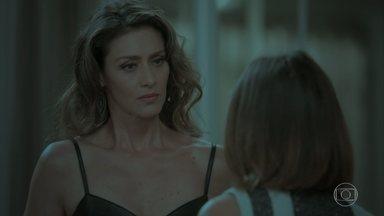Joyce critica a atitude de Cibele - A ex de Ruy pede para conversar com a mãe do rapaz. Dantas afirma a Silvana e Eurico que não quer mais saber de Shirley. Simone incentiva Ivana a reconquistar Cláudio