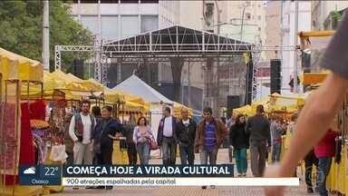 Fim de semana será de diversão na capital com a Virada Cultural - Fim de semana será de diversão na capital com a Virada Cultural.