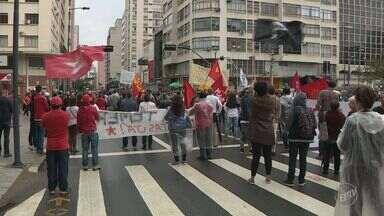 Campinas tem ato contra o presidente da Repúbilca no domingo - De acordo com a Guarda Municipal, 400 pessoas protestaram e pediram a saída do presidente Michel Temer.