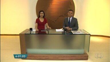 Confira os destaques do Bom Dia Goiás - Mãe é presa suspeita de matar o filho com a ajuda do marido, em Goiânia.