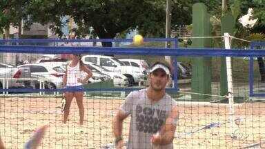 Torneio de Beach Tennis é disputado em Maceió - Jogos foram realizado na Praia de Pajuça