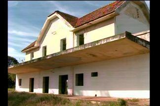 Veja como estão as obras da Estação Férrea de São Luiz Gonzaga, RS - Uma parceria com o Ministério Público Federal vai possibilitar a abertura do espaço.