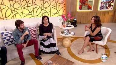 Totia Meireles e Pedro Nercessian falam sobre seus personagens em 'A Força do Querer' - Atores comentam os dramas de Heleninha e Amaro na novela das 9