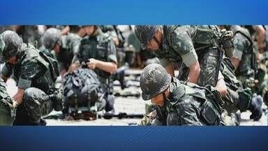 O diretor do Calha Norte participou de reuniões na 17a Brigada de Infantaria de Selva - O diretor do departamento do programa Calha Norte do Ministério da Defesa, Roberto de Medeiros Dantas, participou de reuniões na 17a Brigada de Infantaria de Selva para definir estratégias de ações em mais uma missão.