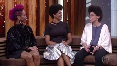 Yasmin Tainá fala sobre a 'Afroflix' - 'Conversa com Bial' recebe estudante de cinema que é cotista na PUC - Rio