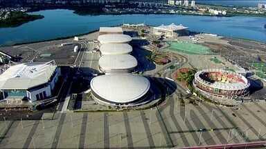 Instalações utilizadas no Jogos olímpicos e paralímpicos estão paradas - Oito meses após a realização dos Jogos, Parque Olímpico está abandonado.