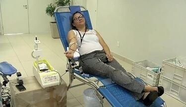 Hospital em Sobral tem baixo estoque de sangue e pede doações - Hospital em Sobral tem baixo estoque de sangue e pede doações