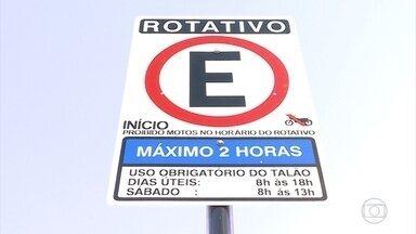 Mais 220 vagas de estacionamento rotativo são implantadas na Região Oeste de BH - Agora na capital mineira são quase 22 mil vagas.
