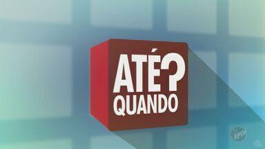 'Até Quando?' verifica situação de campo de futebol abandonado em bairro de Campinas - Telespectador registrou a situação no Parque Itajaí III.
