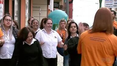 Dia do Desafio agita Ponta Grossa - A ideia é conscientizar as pessoas sobre a importância de fazer atividade física