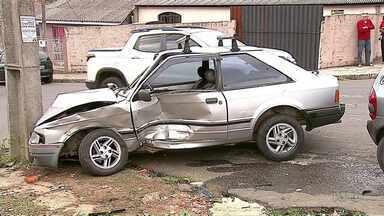 Nove pessoas já morreram vítimas de acidentes em Ponta Grossa - Número é quase o mesmo de todo o ano passado, quando foram registradas 12 mortes