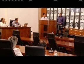 Audiência pública em Ipatinga discute regionalização do Samu - A audiência foi realizada no plenário da câmara de Ipatinga.