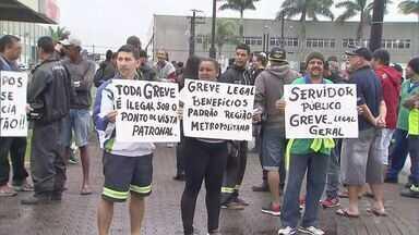 Servidores de Praia Grande decidem encerrar greve após reunião - Paralisação durou menos de 24 horas
