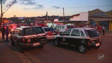 Assalto a agência bancária em Hortolândia termina com troca de tiros - Crime ocorreu na tarde desta quarta-feira, na Rua Luiz Camilo de Camargo.
