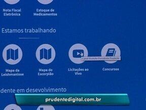 Sistema permite acompanhamento de licitações pela internet - Primeira transmissão foi nesta quarta-feira (31).