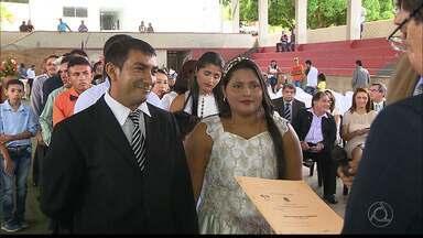 """JPB2JP: Casamento coletivo indígena é realizado em Rio Tinto - 70 casais disseram o """"sim""""."""