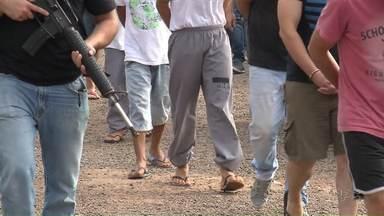 12 pessoas são presas durante operação da polícia civil em Maringá - Os presos são acusados de praticar furtos e roubos na cidade