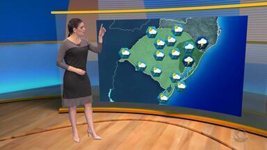 Tempo: mês de junho deve ter chuva acima do normal no RS - Assista ao vídeo.