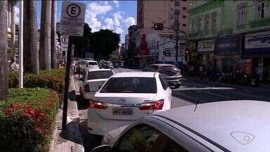 Projeto de estacionamento rotativo é aprovado por vereadores de Cachoeiro, no Sul do ES - Rotativo acabou na cidade em fevereiro de 2016.