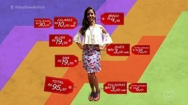 Sophia Abrahão monta um look no estilo Ritinha, de 'A Força do Querer' - Apresentadora foi atrás do figurino da menina-sereia da novela das nove! Confira