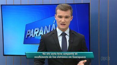 Vai até sexta-feira campanha de recolhimento de lixo eletrônico em Guarapuava - Confira os locais de coleta.