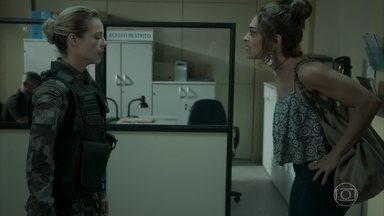 Bibi bate boca com Jeiza - Esposa de Rubinho acusa policial de estar interessada no bandido
