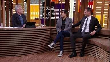 Marcius Melhem e Ricardo Araújo Pereira comentam as transformações do humor - Os comediantes falam sobre o humor brasileiro e português