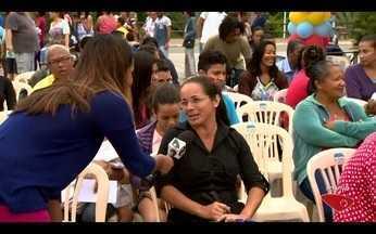 Prefeitura da Serra, ES, oferece serviços gratuitos à população - Ação acontece no parque da cidade.