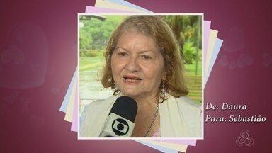 Telespectadora faz declaração de amor para namorados no AM - Veja a declaração apaixonada.