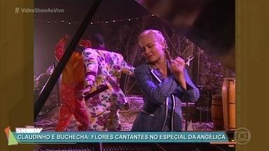'Vídeo Show' relembra especial 'Angélica no País da Música' - Programa contou com a participação de Claudinho e Buchecha e foi ao ar em 1997