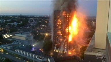 Incêndio que destruiu prédio em Londres era tragédia anunciada - Moradores denunciam há anos a falta de segurança e riscos de incêndio. Ao menos 12 pessoas morreram.
