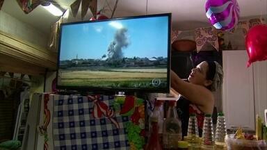 Moradores da Zona Norte do Recife recebem ações da Onda Digital - Sinal analógico de TV vai ser desligado em julho