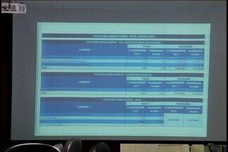 Semusa presta contas de gastos com a Saúde em audiência pública em Divinópolis - Até o momento foram gastos R$ 64 milhões; divulgação dos dados cumpre artigo 31 da lei complementar federal 0141/2012.