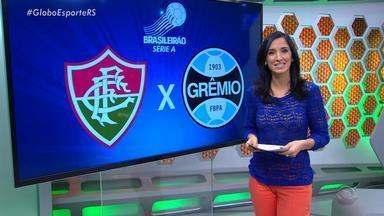 No Brasileirão, Grêmio enfrentará o Fluminense nesta quinta (15) - Treino foi de portões fechados.