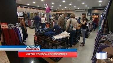 Comércio varejista começa a dar sinais de recuperação - Em São José, lojas têm sentido essa melhora.