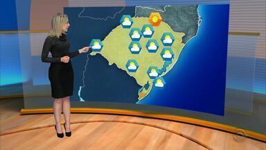 Tempo: sexta-feira será de tempo seco no RS, sem chance de chuva - Temperaturas devem subir à tarde no estado.