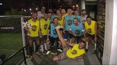 Partida de futebol gay agita Botafogo - Toda sexta-feira o grupo se reúne para se divertir e jogar