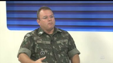 Comandante do 25º BC fala sobre a situação de estiagem no município de Jaicós - Comandante do 25º BC fala sobre a situação de estiagem no município de Jaicós