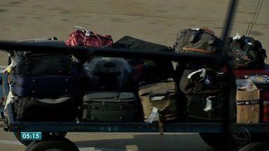 Já estão em vigor as novas regras para despacho de bagagens em viagens de avião - Já estão em vigor as novas regras para despacho de bagagens em viagens de avião.