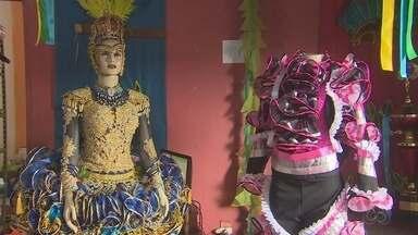 Produção de roupas juninas aquecem a economia em lojas e ateliês em Macapá - Temporada junina é sinônimo de lucro para muitas pessoas.
