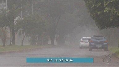 Dia amanhece bem frio em Ponta Porã, MS - Dia amanhece bem frio em Ponta Porã, MS
