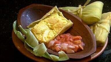Veja como preparar pamonha com compota de goiaba - Receita faz parte do concurso de receitas juninas da TV Gazeta.
