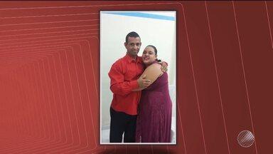 Casal torturado e assassinado em Eunapólis é enterrado - A suspeita da polícia é que os bandidos mataram o casal para roubar.