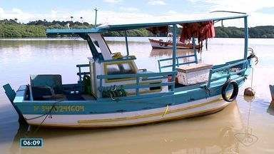Pescadores comentam liberação de pesca de algunas espécies no ES - Algumas espécies foram liberadas por um ano.